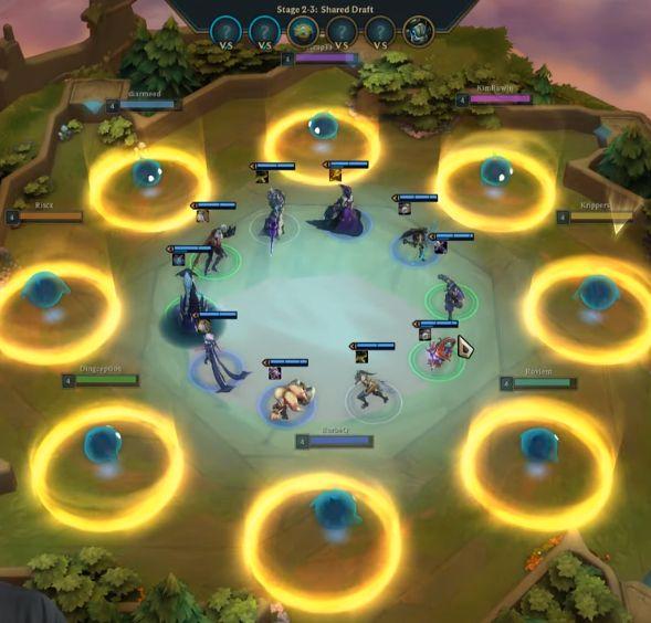 云顶之弈模式玩法介绍:桌上策略游戏即将面世